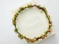 Mustard flower crown, from Etsy - https://www.etsy.com/nz/listing/630789243/mustard-flower-crown-wedding?ga_order=most_relevant&ga_search_type=all&ga_view_type=gallery&ga_search_query=mustard+wedding&ref=sr_gallery-4-31&organic_search_click=1&frs=1