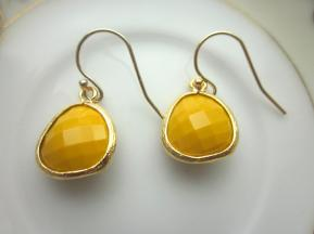Mustard earrings, from Etsy - https://www.etsy.com/nz/listing/129588871/mustard-yellow-earrings-gold-glass?ga_order=most_relevant&ga_search_type=all&ga_view_type=gallery&ga_search_query=mustard+wedding&ref=sr_gallery-1-34&organic_search_click=1