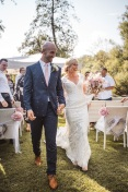 Real wedding: Monique and Justin