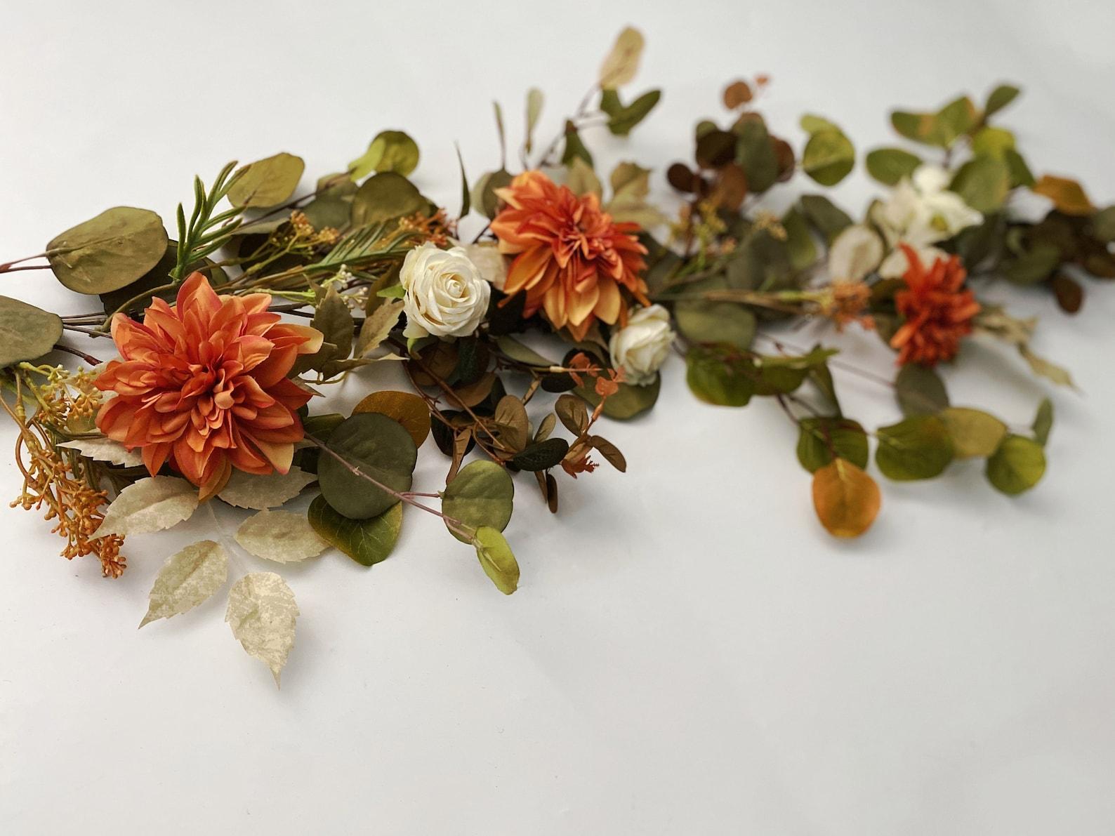 Autumn/Fall flower garland